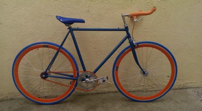 Vendo bicicleta fixie de carreras